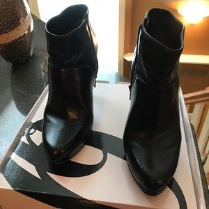 Nine West Black Stiletto Ankle Boots - 9M
